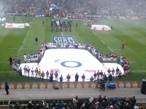 twickenham stadium - national anthems 6 nations