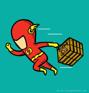 part-time jobs for superheroes - Flash