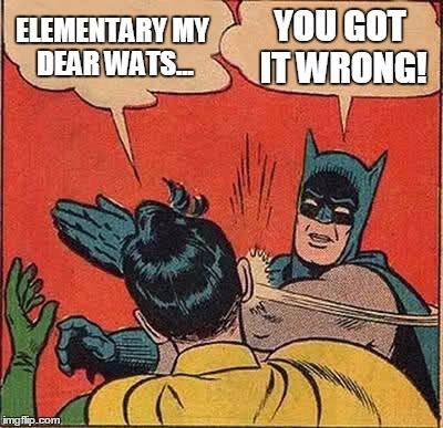 secondary characters, batman robin meme