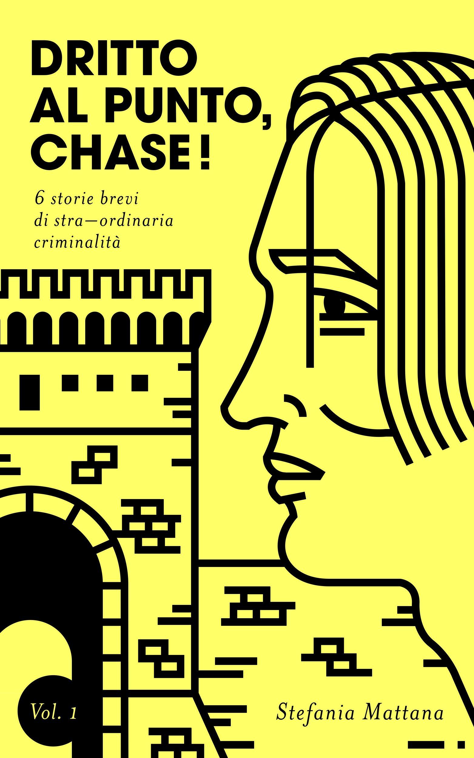 copertina racconti brevi gialli dritto al punto chase, ebook gratis da scaricare