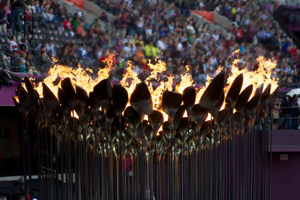 Olympic opening ceremonies - 2012 olympic cauldron
