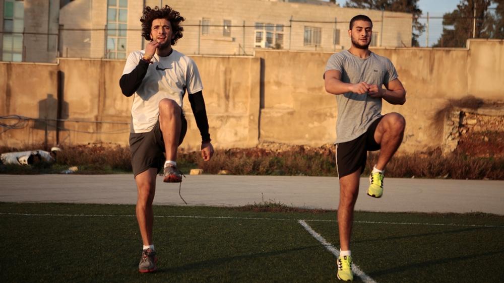 Olympic spirit, Mohamed al-Khatib, running for palestine, rio 2016, tokyo 2020