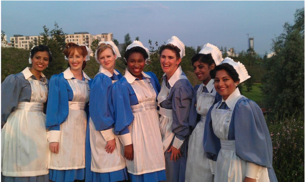 olimpiadi, ispirare una generazione, londra 2012 infermiere