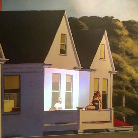 hopper exhibition