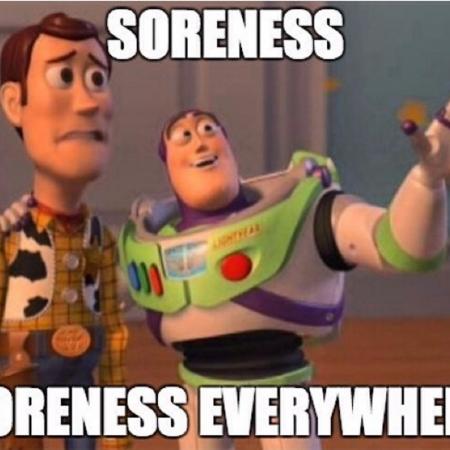soreness, leg day, DOMS