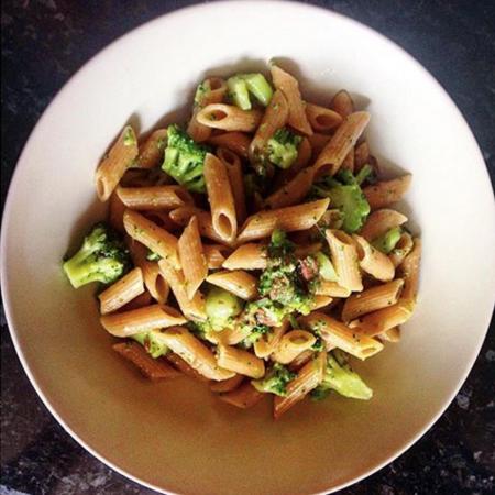 st patrick's day, green pasta
