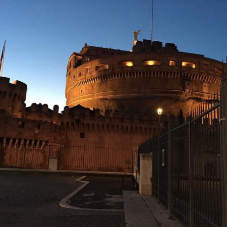 castel sant'angelo roma, pic by dad,