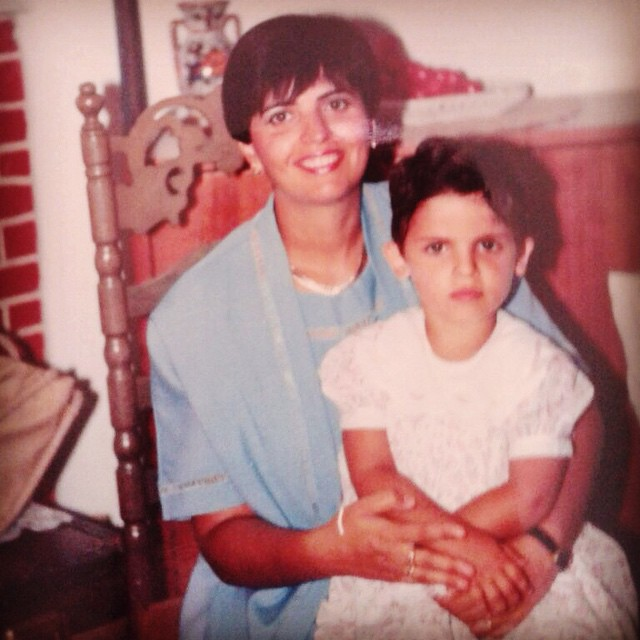 mother and I 1987