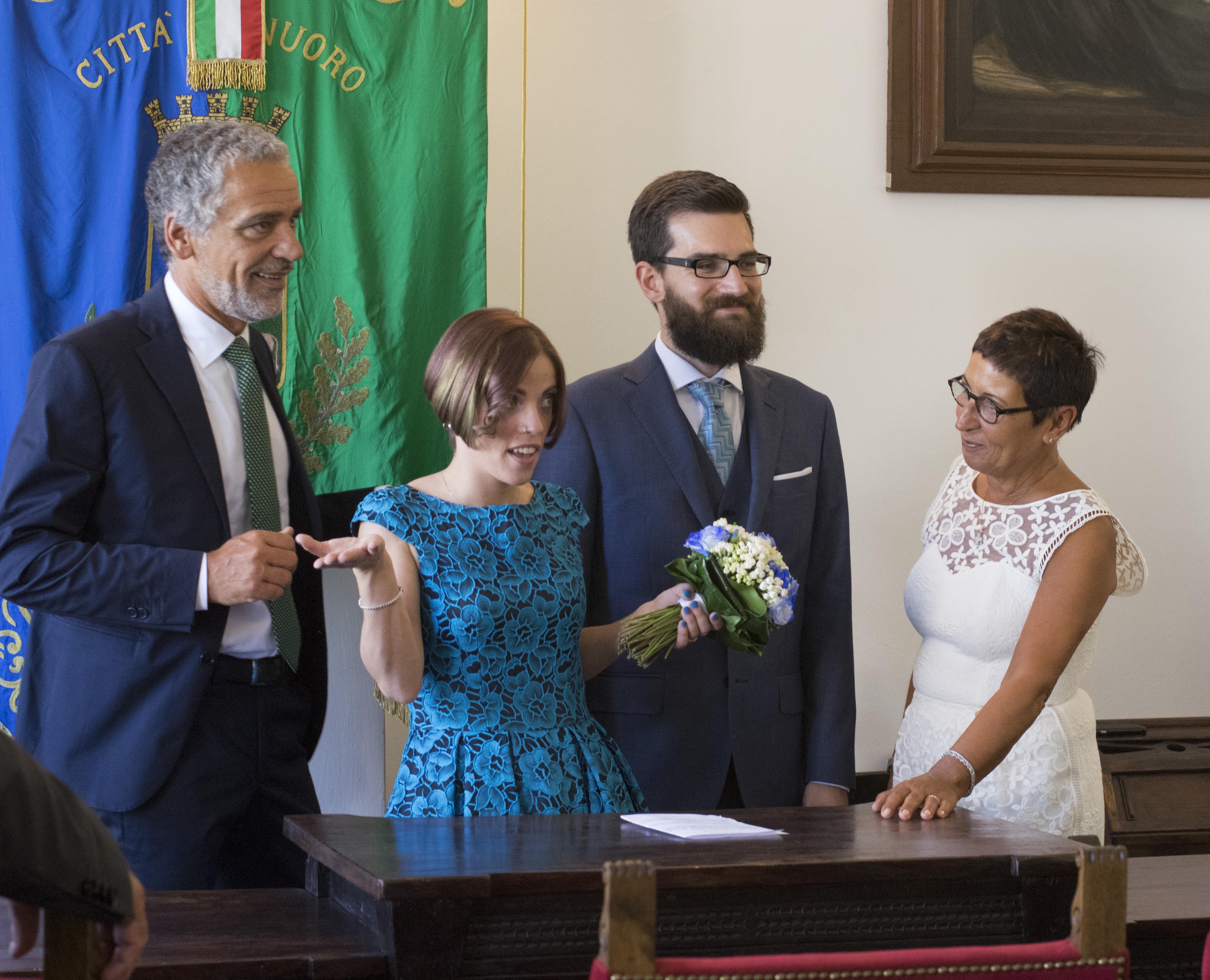 wedding day aunt Carmen uncle Enrico