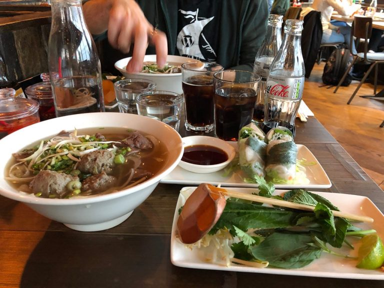 vietnamese food, phocafe reading, pho soup