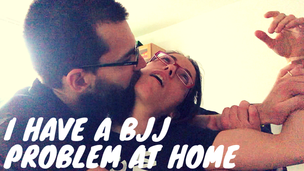 I HAVE A BJJ PROBLEM AT HOME, dailypinner vlog THUMBNAIL