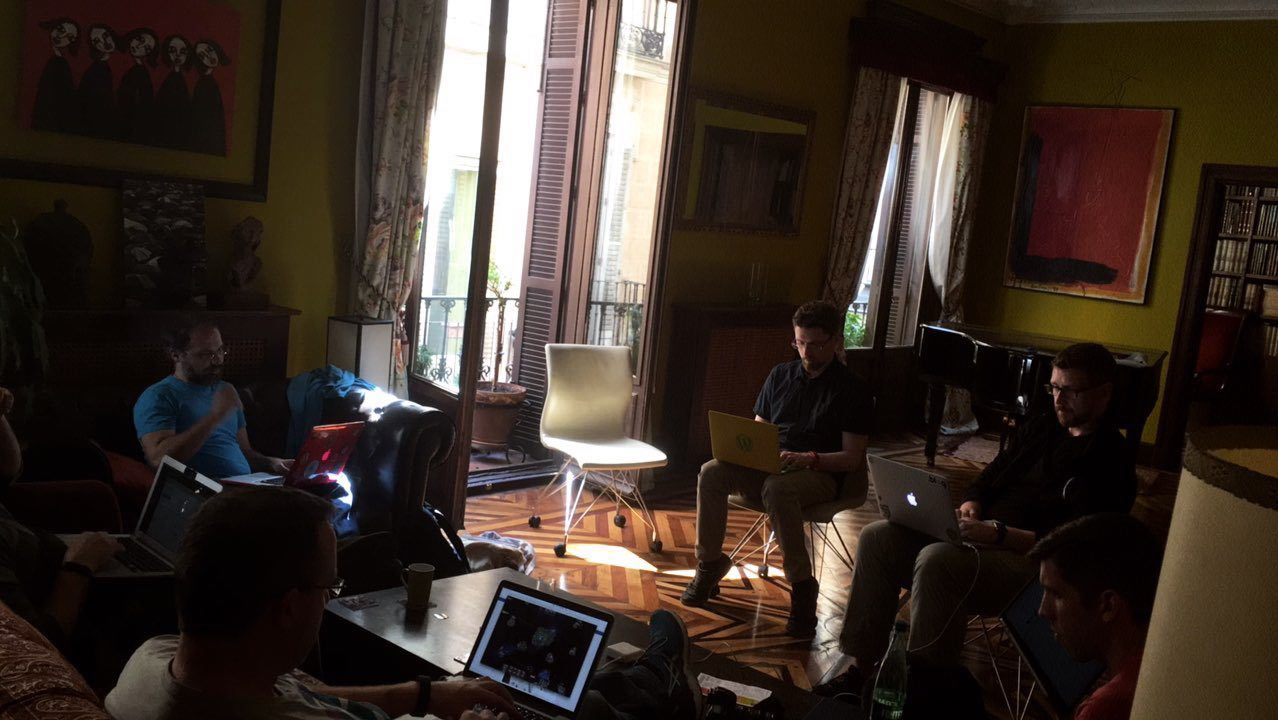coworking apartment Madrid